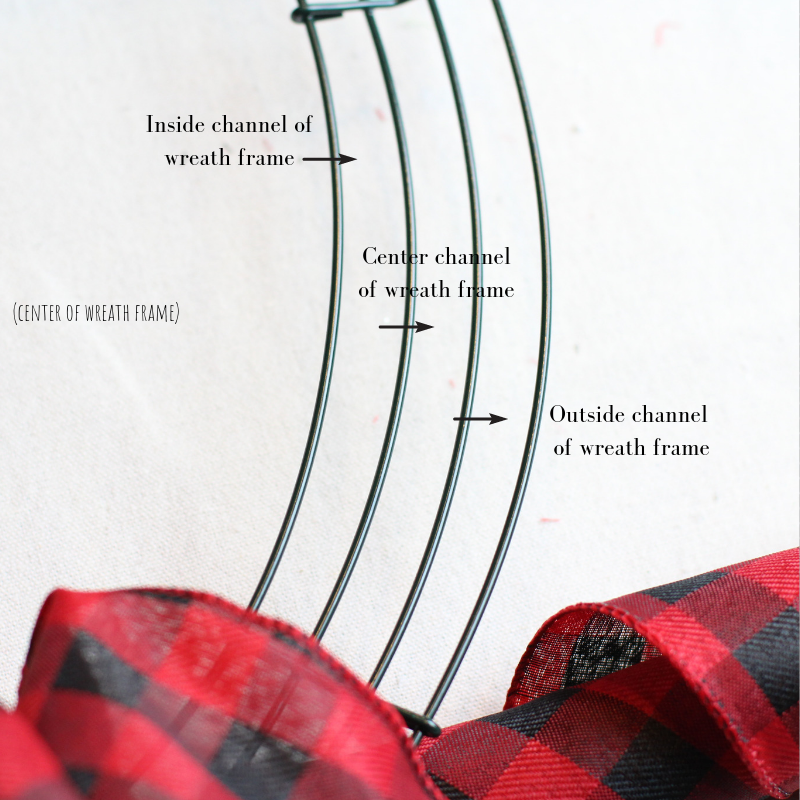how to make a ribbon wreath christmas ribbon wreath holiday wreath festive wreath