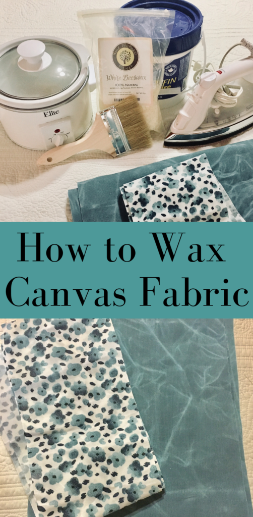 how to wax cotton canvas fabric #howtowaxfabric #crafty #DIYwaxedcanvas #howtowaxcanvastutorial #learnsomethingnew #sewing #crafts #sewingskills