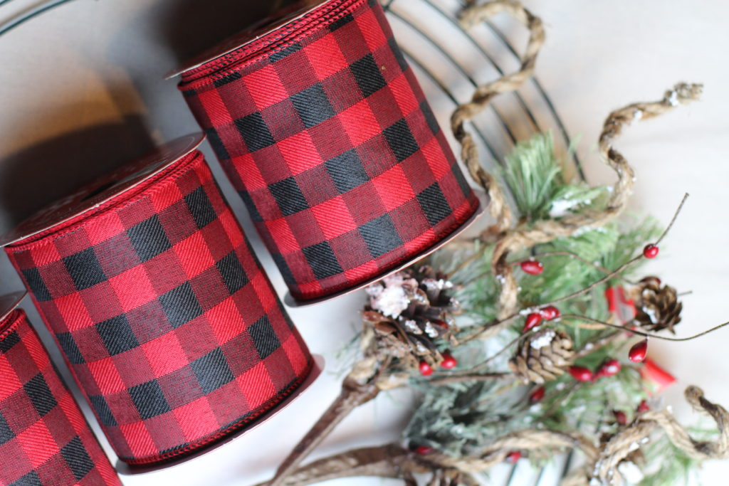 christmas ribbon wreath tutorial ribbon wreath christmas wreath