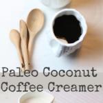paleo coconut coffee creamer