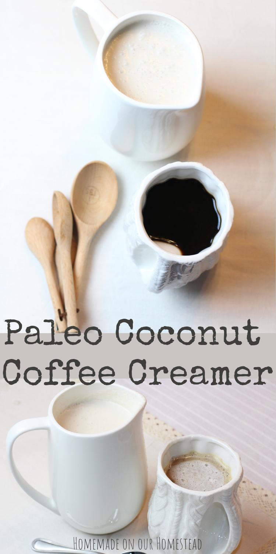 paleo vanilla coconut coffee creamer