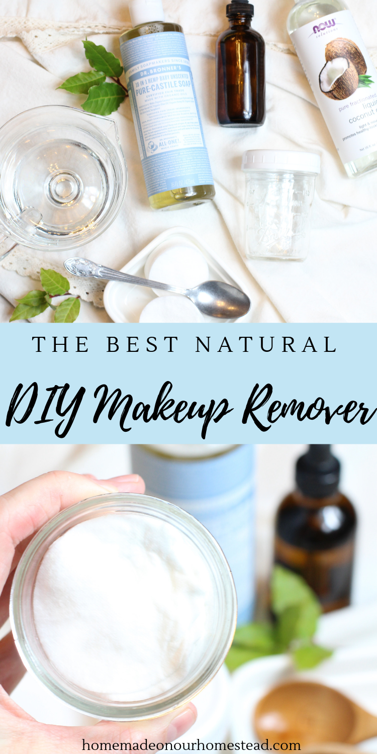 The Best Natural DIY Homemade Makeup Remover