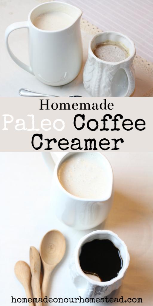 how to make paleo coffee creamer. paleo coffee creamer. DIY paleo coffee creamer.
