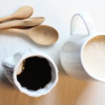 homemade on our homestead DIY paleo coffee creamer, chemical free coffee creamer, healthy coffee creamer, food from scratch #foodie #foodfromscratch #healthconcious #knowwhatsinyourfood #healthyliving #simplehomesteadlife