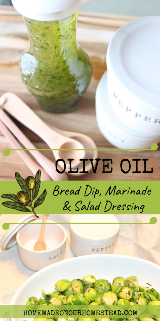 Olive oil bread dip | Olive oil salad dressing | olive oil marinade | Whole30 salad dressing | Keto salad dressing