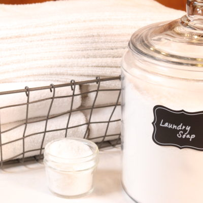 HOW TO MAKE REALLY EFFECTIVE TOXIN FREE LAUNDRY SOAP USING ESSENTIAL OILS