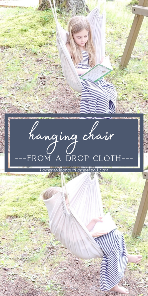how to make a hanging swing from a drop cloth | DIY hanging swing | Easy sensory swing # howtomakeahangingchairfromadropcloth #DIYhangingchair #easysensoryswing #dropclothcraft #DIYcraftproject #youtuber #craftersofinstagram #howtomakeahangingchair #easyhangingchair