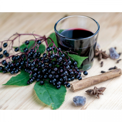 How to make ELDERBERRY SYRUP | Natural remedy for cold and flu