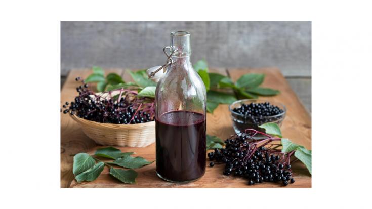 Elderberry Syrup (InstaPot)